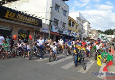 Colégio Batista realizou Passeio Ciclístico em comemoração ao Dia dos Pais